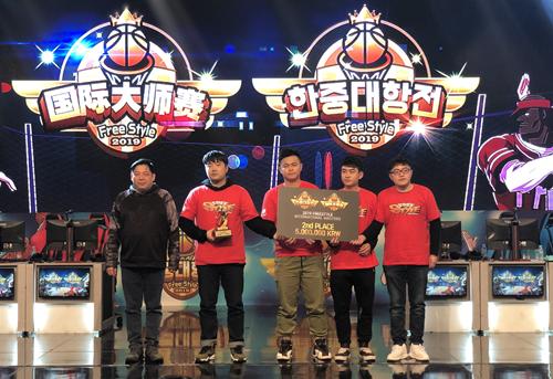 兄弟组合SF奇袭  《街头篮球》韩国J3战队称霸大师赛