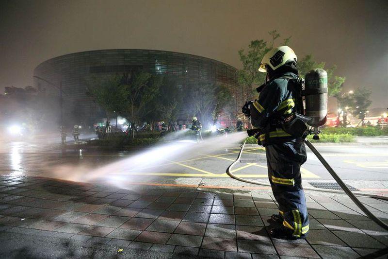 台北MSI比赛场地突发火灾 是否影响比赛尚未得知
