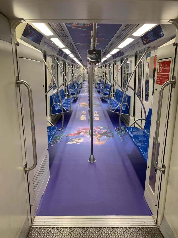 TI9地铁专列出发:乘上梦想列车,抵达热血战场