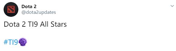 《DOTA2》Ti9全明星阵容公布 上届冠军无一人上榜