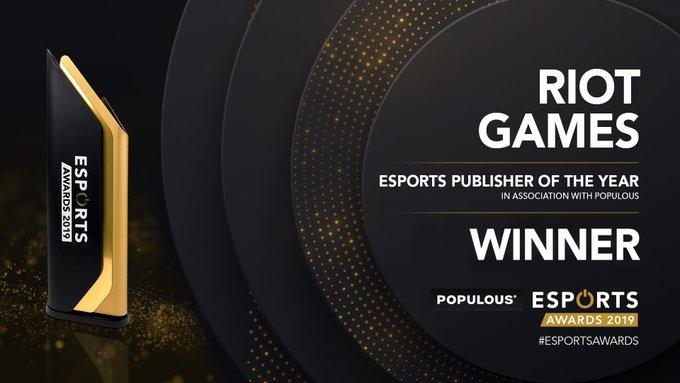 全球电竞大奖出炉 《LOL》年度游戏 G2年度战队