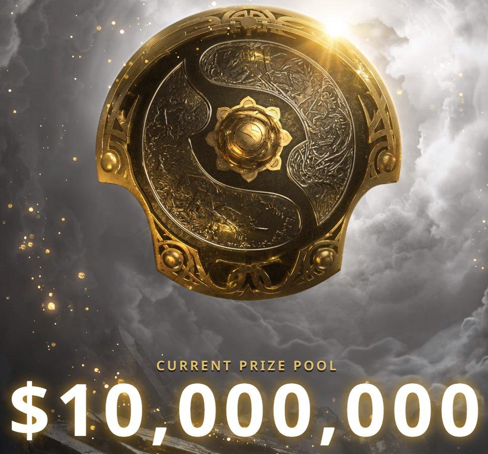 《DOTA2》Ti10总奖金突破1000万美元 较去年快近一天
