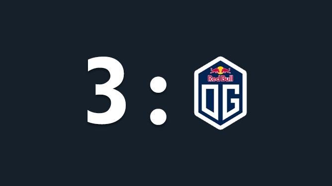 DOTA2 OMEGA联赛:秘密再次3比0横扫OG夺冠