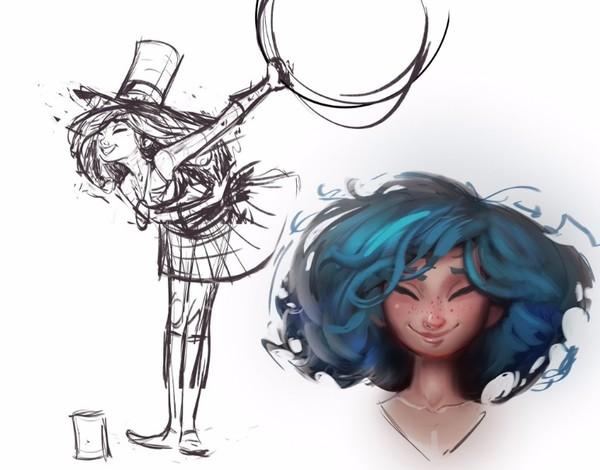 《英雄联盟》设计师揭秘佐伊 初版曾是金克斯姐
