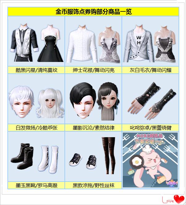 《炫舞时代》6月商城金币款限时点券购!