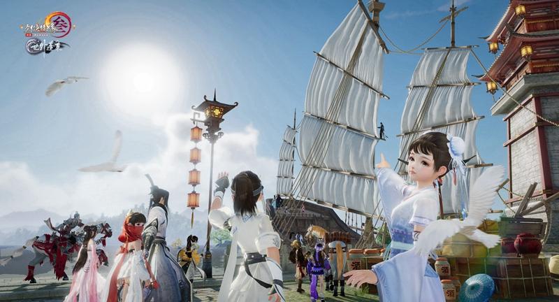 《剑网3》蓬莱预热活动25日开启 东海权力关系曝光