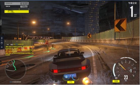 《极品飞车OL》赛道中的死神--午夜立交跑法攻略
