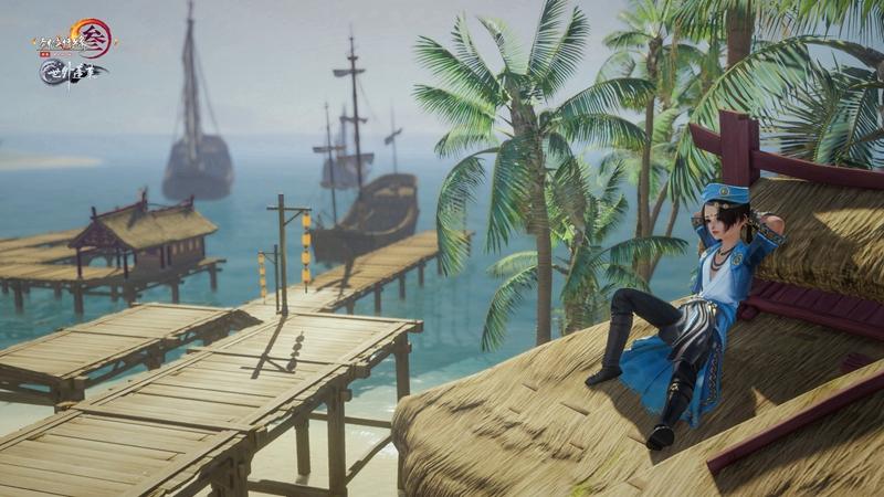 海盗VS东南亚风 《剑网3》100级江湖装致敬海上丝路