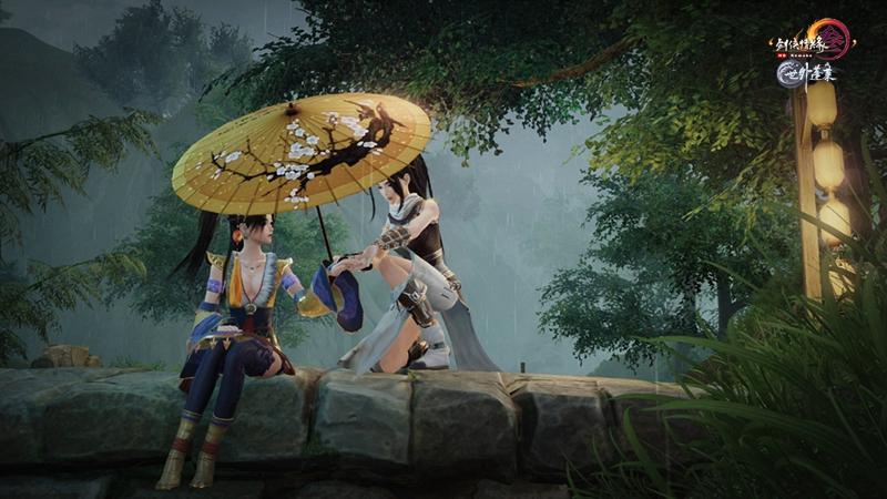《剑网3》武林通鉴送情怀坐骑 系统同伴包分配