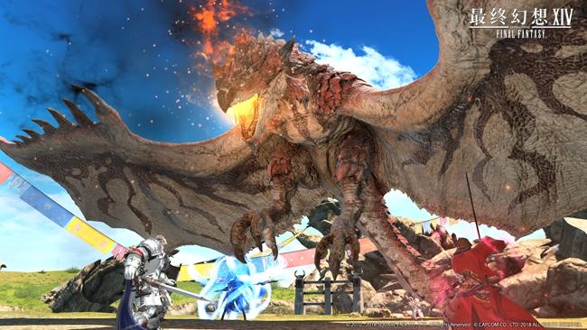 狩猎解禁!《最终幻想14》国服开放怪物猎人联动