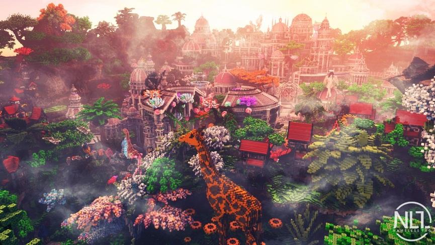 《我的世界》也有史前文明!欢迎来到魔法世界忒伊亚!