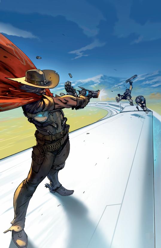 《守望先锋:第一卷》官方图像小说开启预售