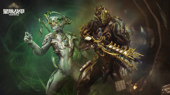 漆黑色的真相 《星际战甲》全新战甲系统来临