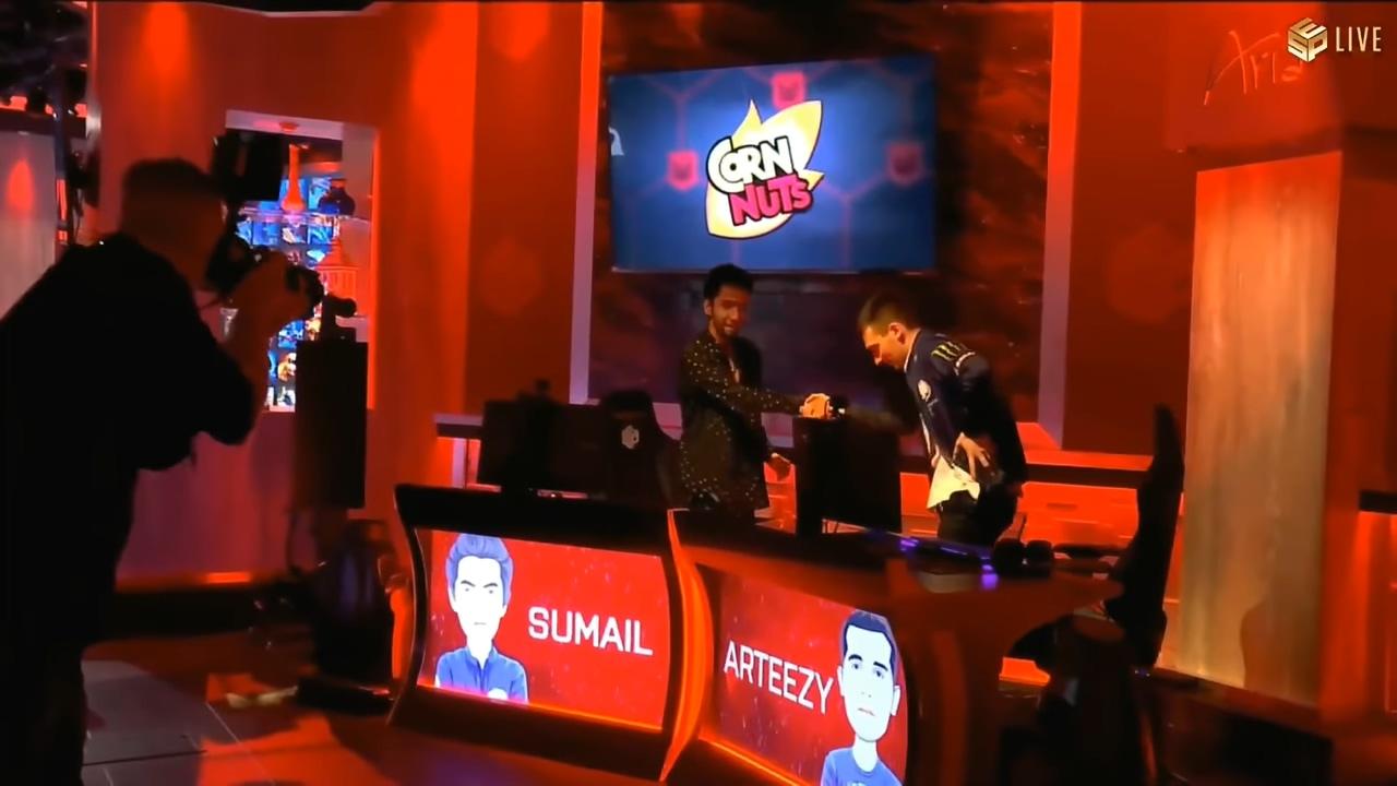 《DOTA2》国外顶尖选手Solo:Sumail vs RTZ
