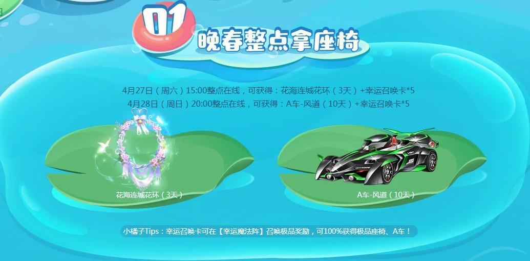 《QQ飞车》绿肥红瘦活动地址