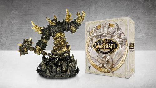 《魔兽世界》经典怀旧服8月27日开服 十五周年限定礼盒得拉格纳罗斯