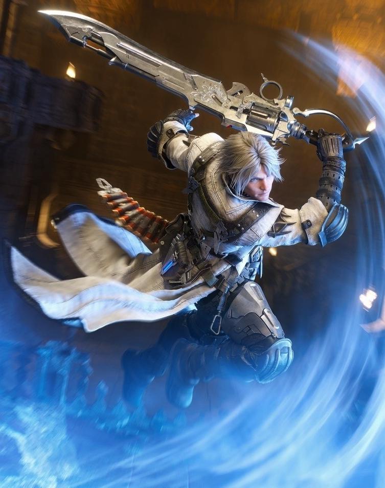 《FF14》新资料片《漆黑的反逆者》全职业新艺图