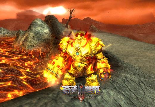 战斗机器人出场《奇迹世界SUN》全能职业海洛伊德