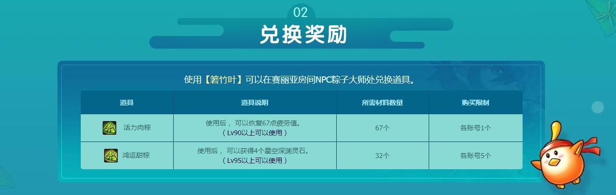 《DNF》美味粽飘香活动介绍