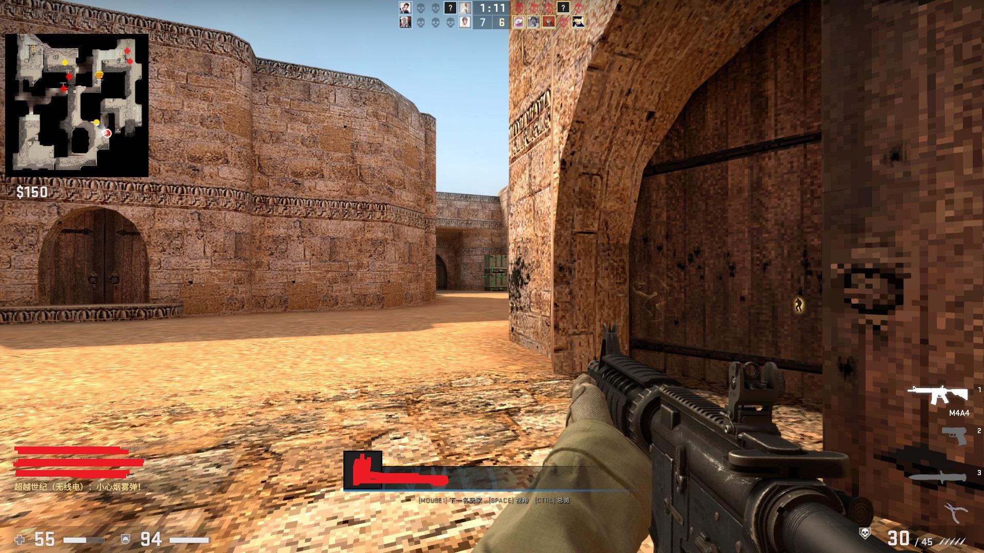 """《反恐精英》20周年《CS:GO》带你重温老版""""沙漠2"""""""