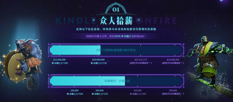 《DOTA2》参与九星连珠活动 赢取TI9门票
