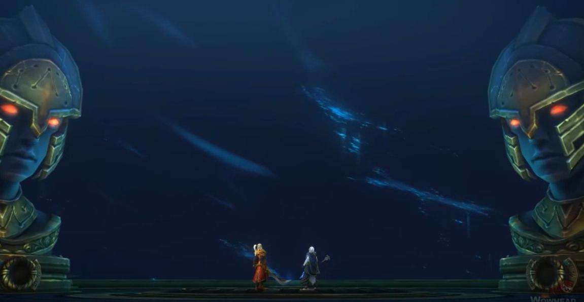 所有眼睛都将睁开!《魔兽世界》8.2永恒王宫结局动画