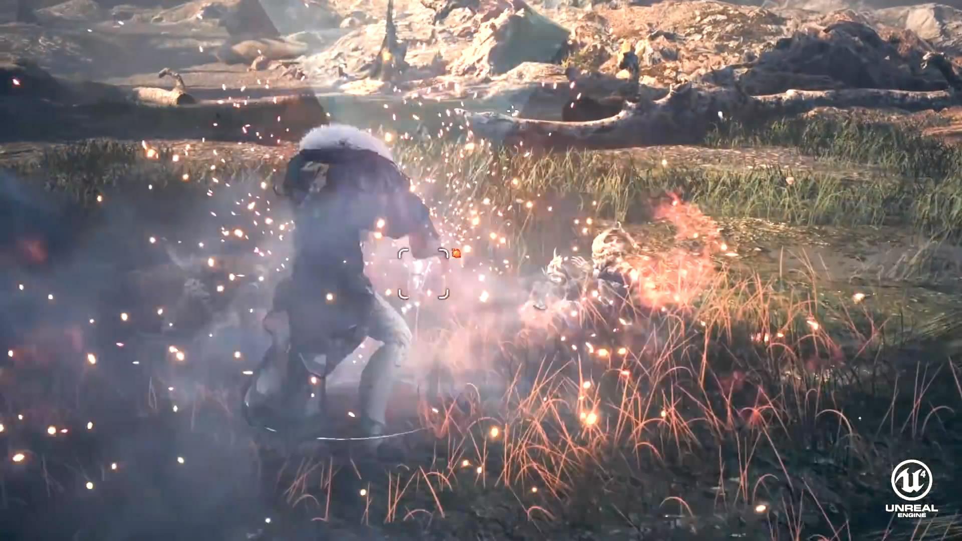 《剑灵》虚幻4重制版演示曝光 画面特效大提升!