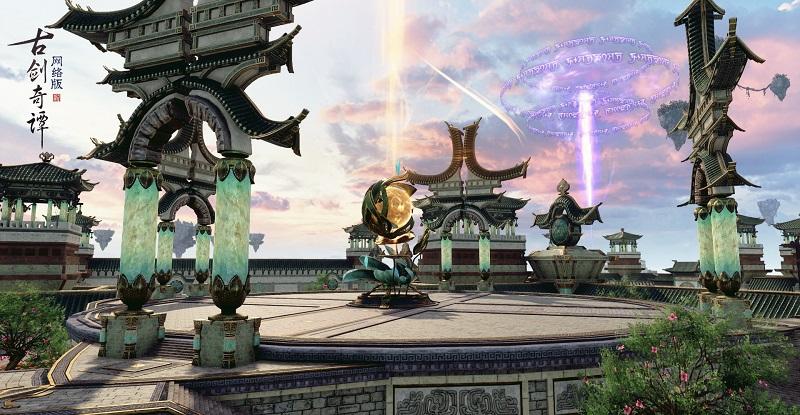 《古剑奇谭网络版》PVP盟会战玩法前瞻,据点争夺,云海争锋