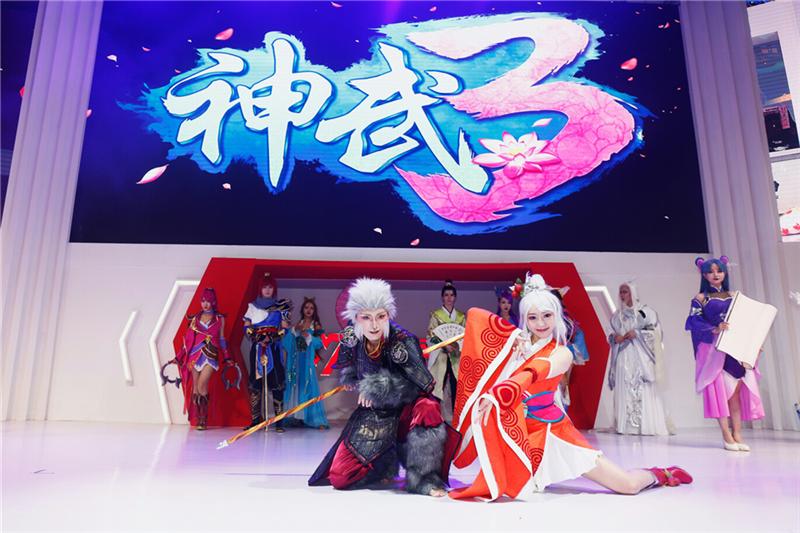 2019Chinajoy融合游戏与传统文化艺术 《神武3》佳节人间七夕先导片首曝