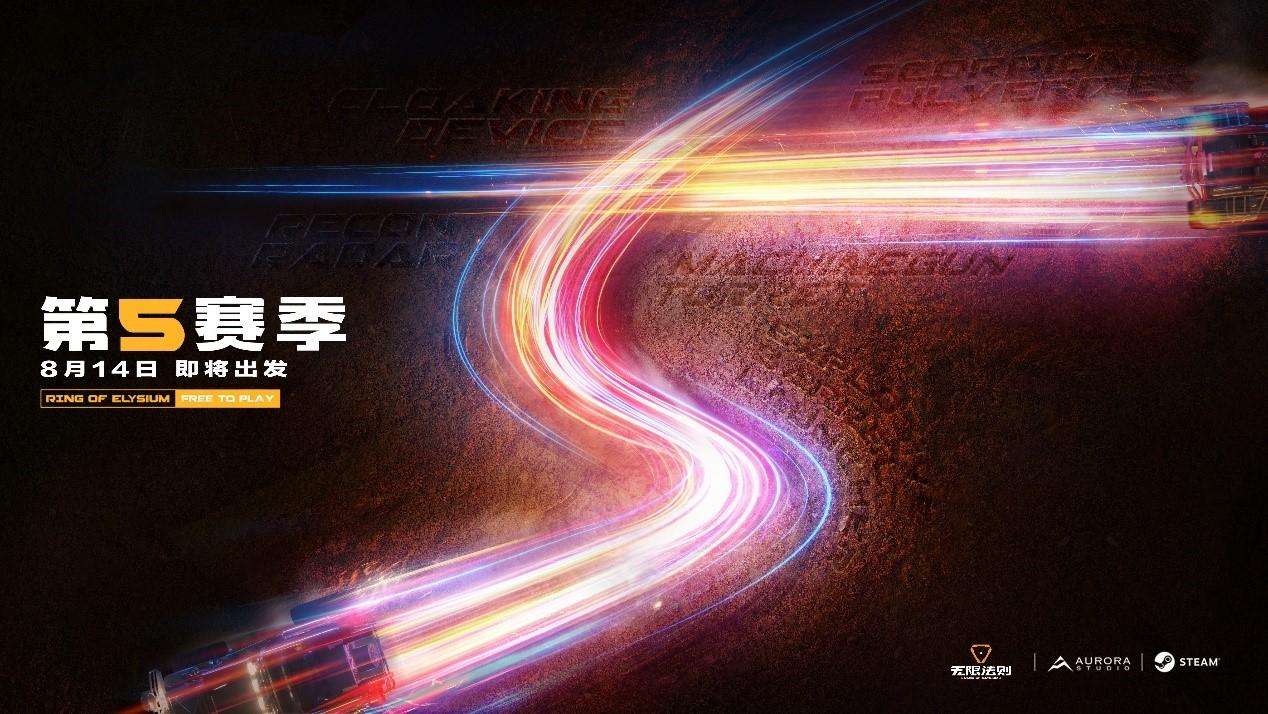 飙车进圈 燃爆全场《无限法则》S5赛季悬念海报曝光