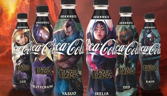 土耳其推出《英雄联盟》版可口可乐 不仅便宜还送点券