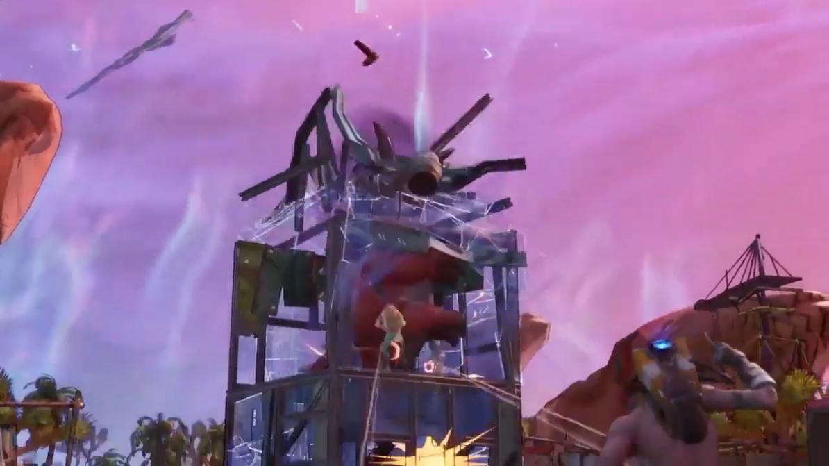 《堡垒之夜》X《无主之地3》联动宣传片 疯子登场!