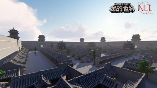 平遥古城现身像素世界 《我的世界》建筑团队用娱乐777官网登录 守护世界文化遗产