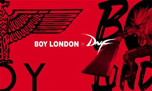 《DNF》与Boy London联名款即将上线