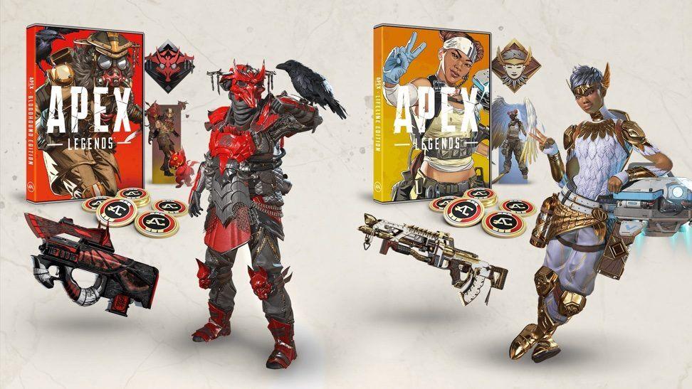 《Apex英雄》双实体版内容公开 10月18日正式发售