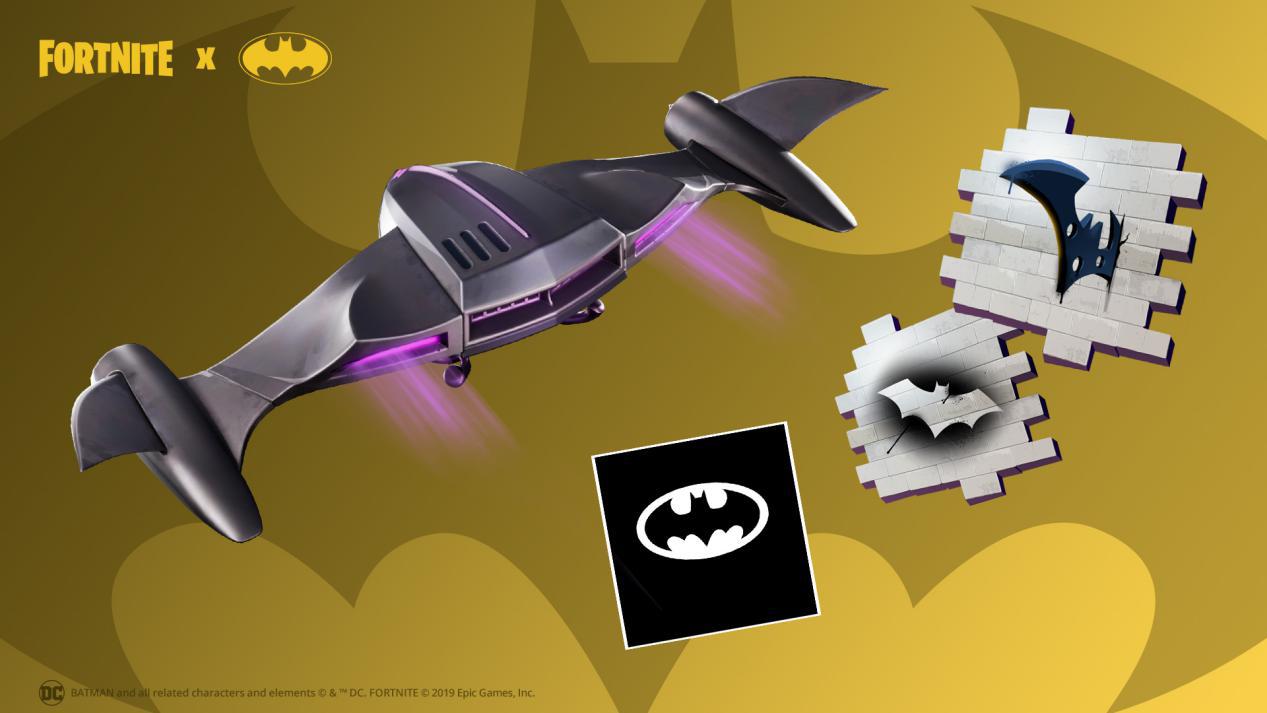 《堡垒之夜》 x 《蝙蝠侠》联动开启,体验哥谭英雄的日常生活!