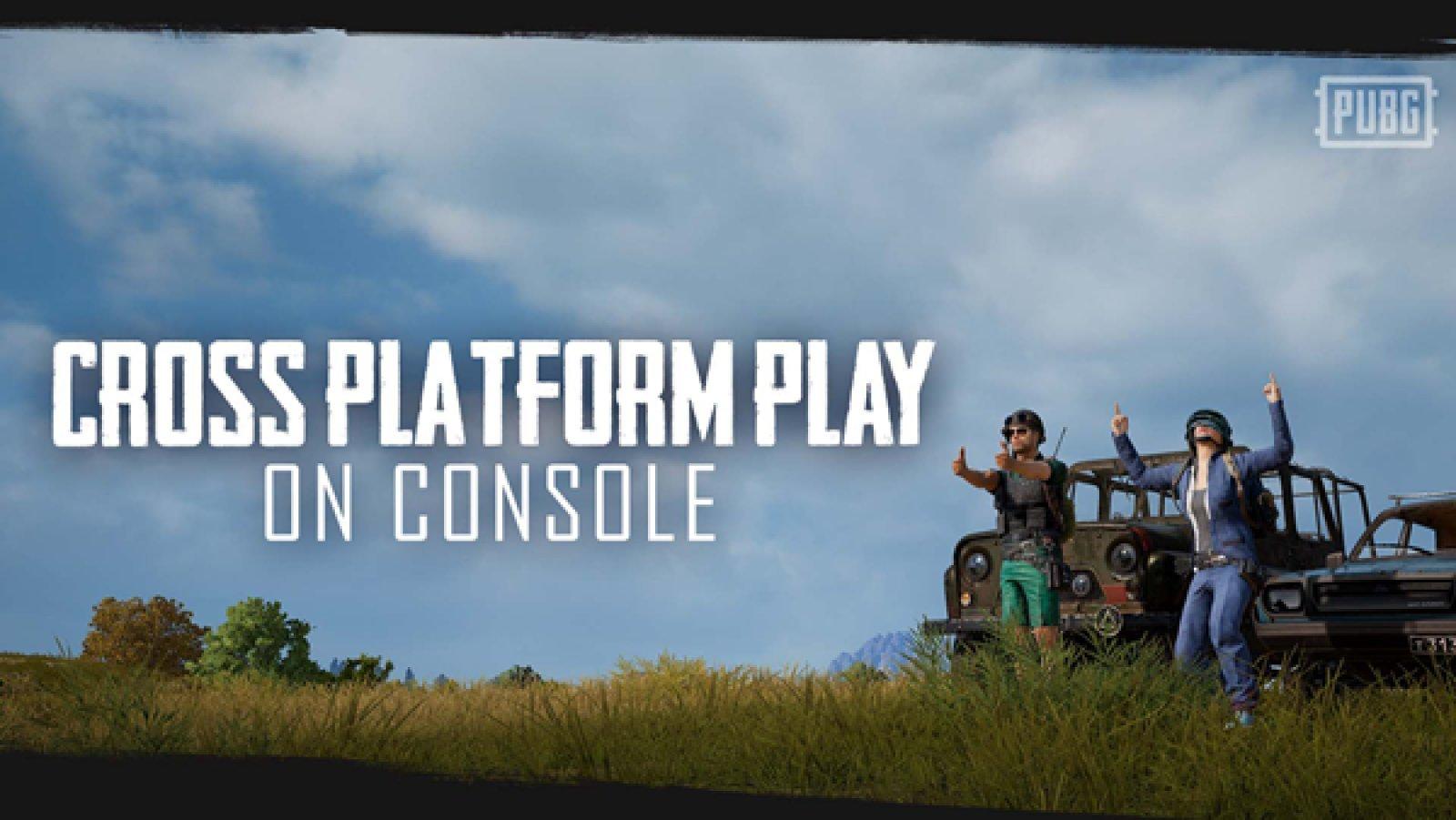《绝地求生》主机版更新 现已支持PS4和Xbox One跨平台联机