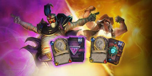 """《炉石传说》万圣节活动""""古墓怪谭""""盛大开启 登录就送5卡包!"""