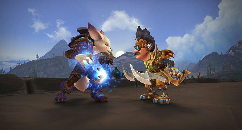 《魔兽世界》8.3新同盟种族狐人与机械侏儒前瞻