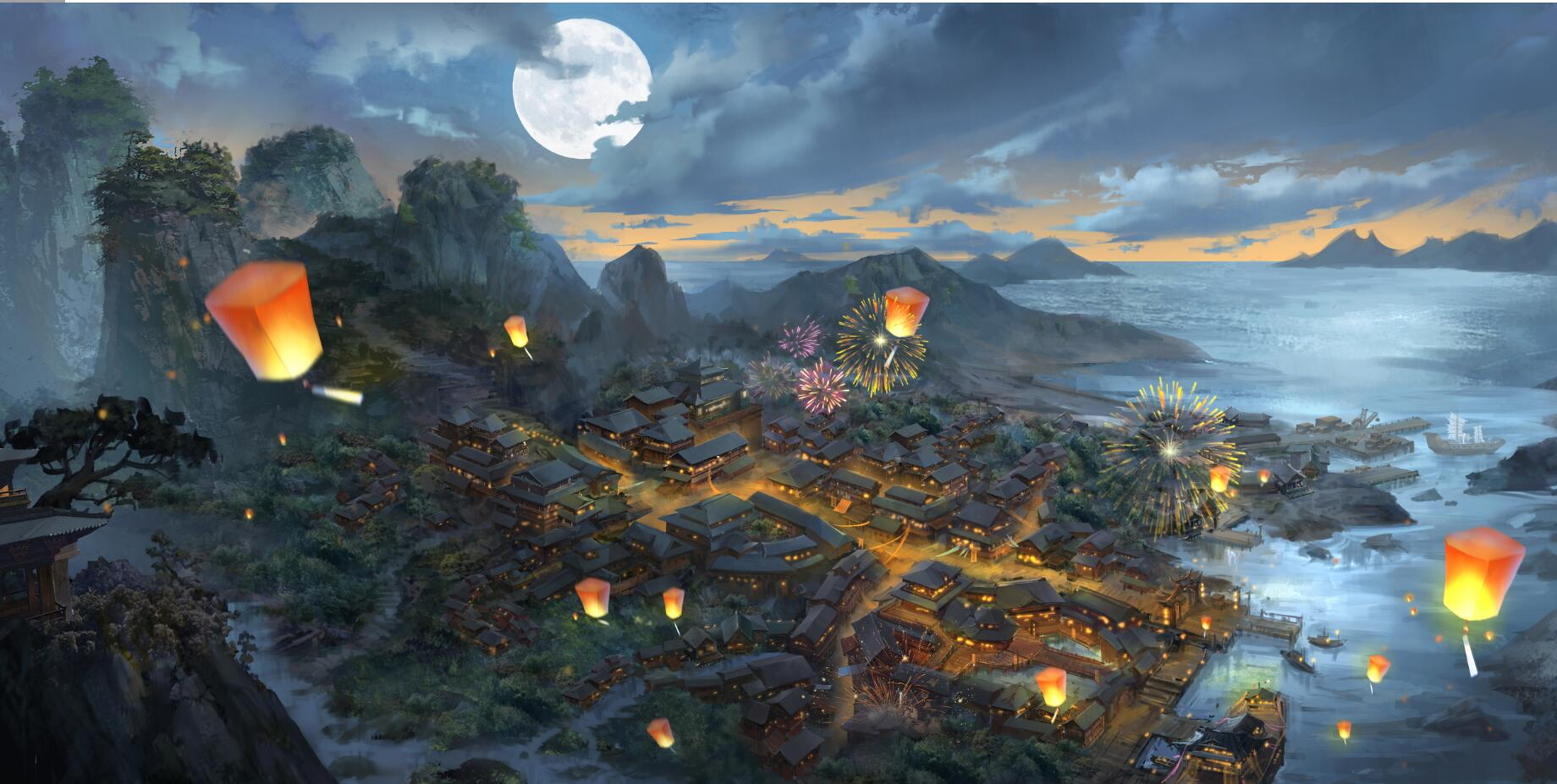 《新天龙八部》全新鬼市玩法溯源:来自大宋的烟火人间