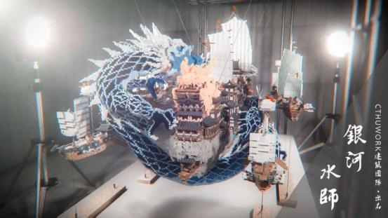 精致的建筑大观,尽在《我的世界》国建服务器