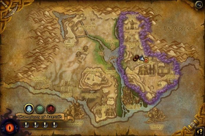 《魔兽世界》8.3版本奥丹姆阿玛赛特入侵前瞻