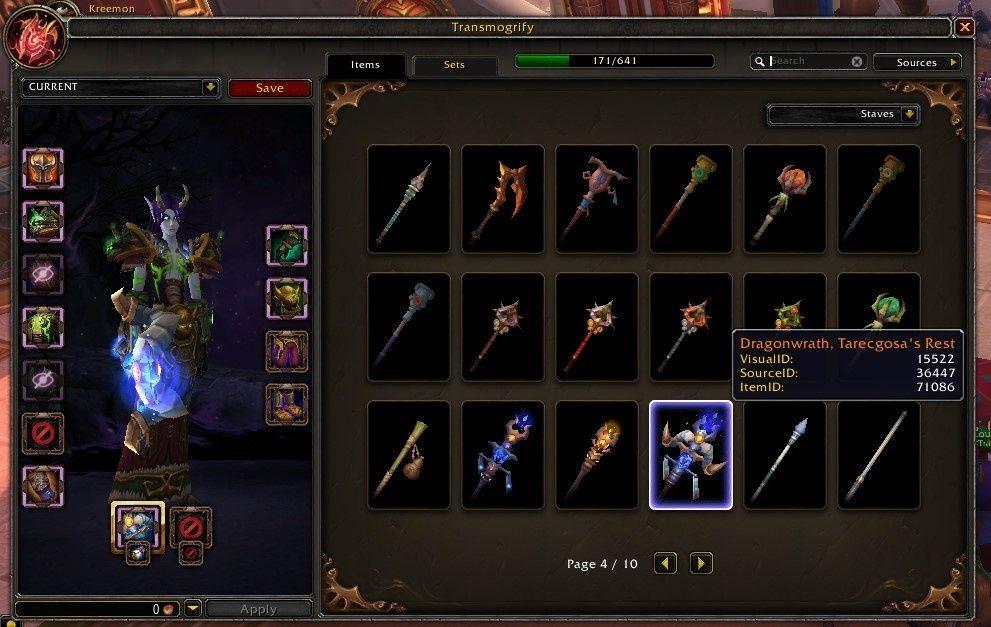 《魔獸世界》傳說武器幻化將提早至8.3版本開放