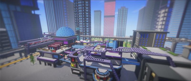 方寸之间,《我的世界》透过游戏建筑看到不一样的未来
