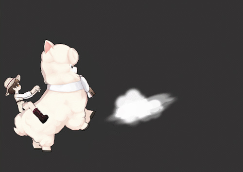 羊驼图图《艾尔之光》蠢萌的新骑宠来啦