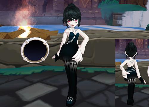 冰雪个性《艾尔之光》优雅的娜薇新装