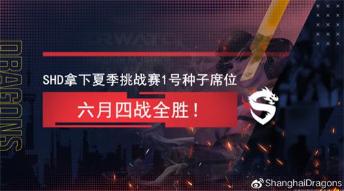 夏季挑战赛本周末开启 上海龙之队迎来卫冕之战
