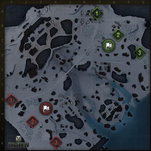 绝地战场策略深挖《坦克世界》战役模式地图介