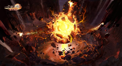 """《古剑奇谭网络版》年度全新版本震撼来袭 """"瀚海惊弦""""正式开测!"""