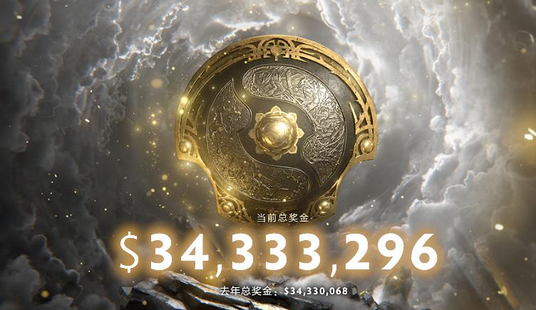 《DOTA2》Ti10奖金池创新纪录 突破3433余万美元